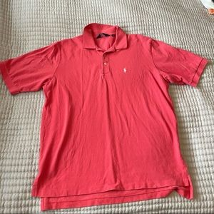 Polo by Ralph Lauren Golf Pink polo shirt
